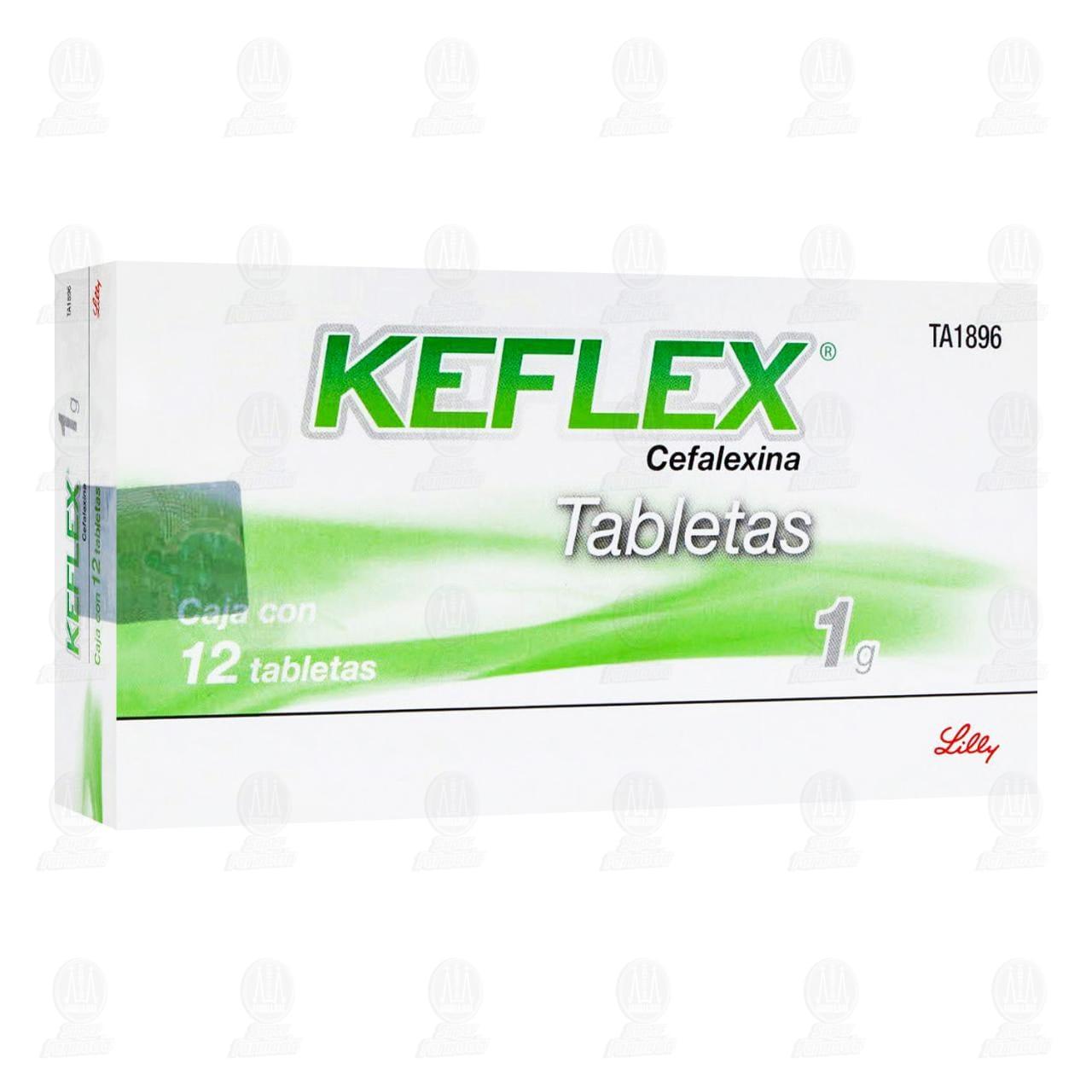 Comprar Keflex 1gr 12 Tabletas en Farmacias Guadalajara