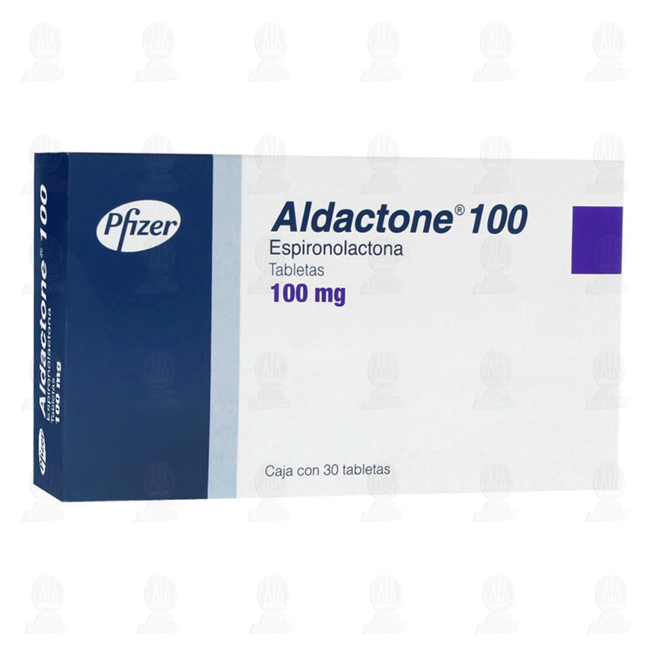 Aldactone 100mg 30 Tabletas