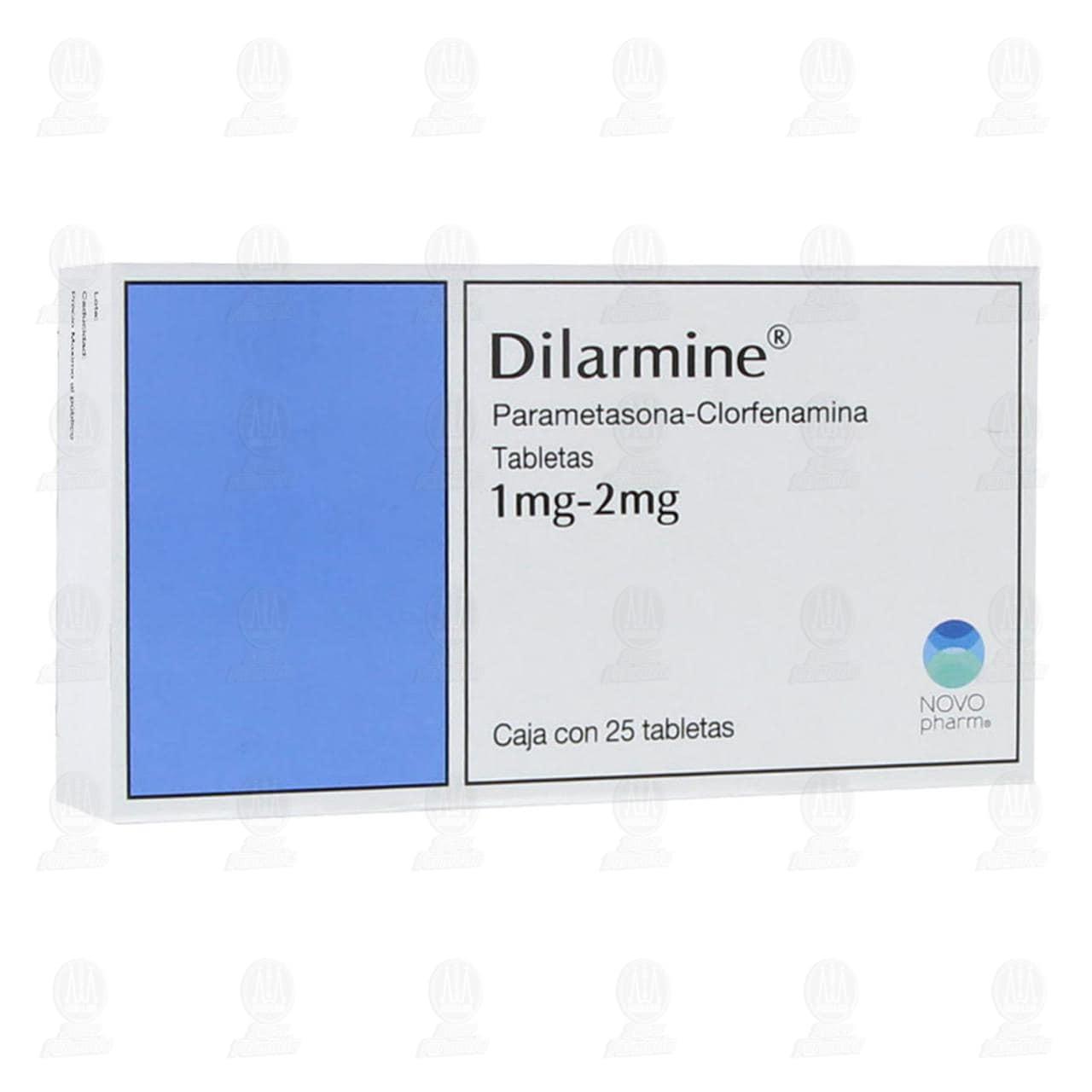 Comprar Dilarmine 1mg/2mg 25 Tabletas en Farmacias Guadalajara