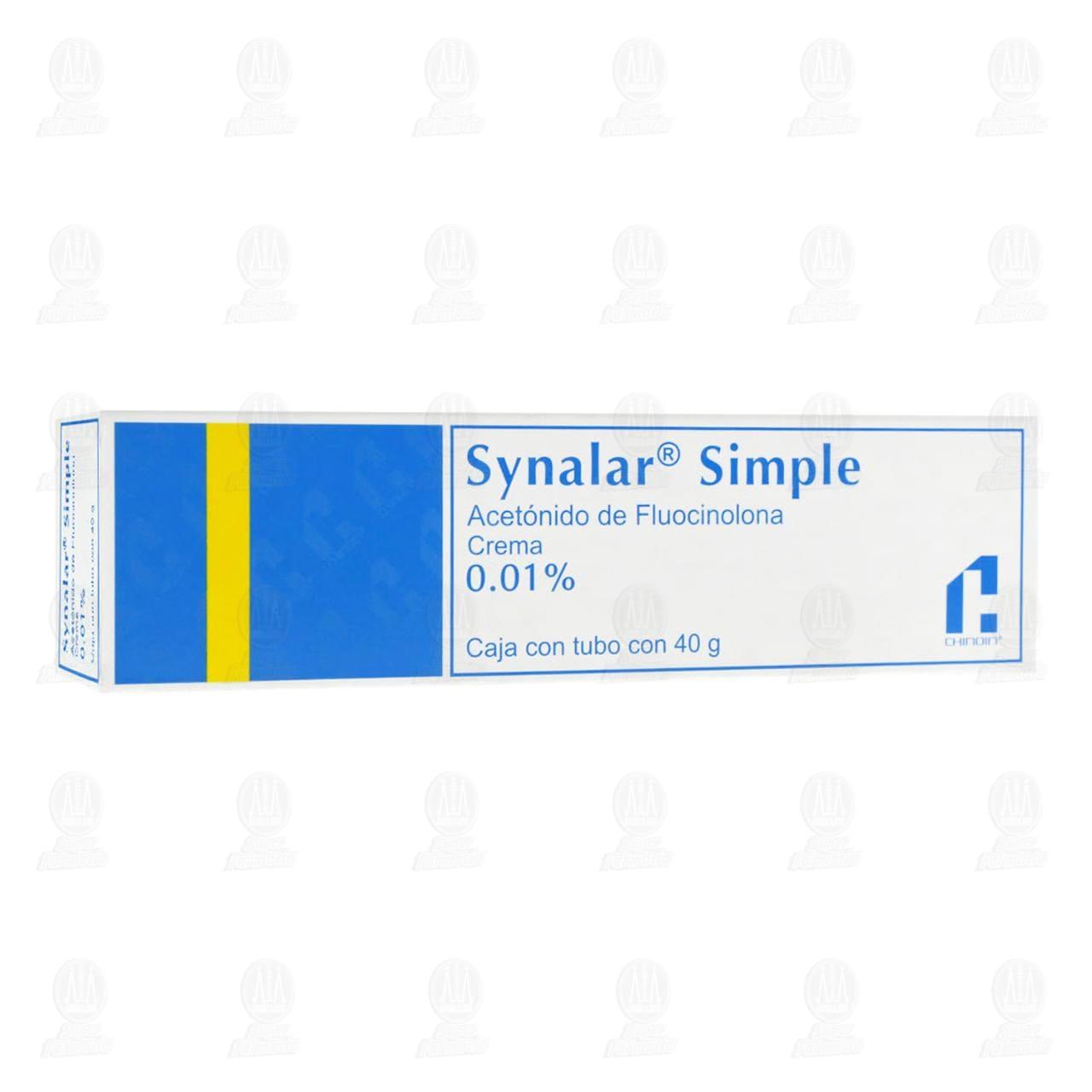 Comprar Synalar Simple 0.01% 40gr Crema en Farmacias Guadalajara