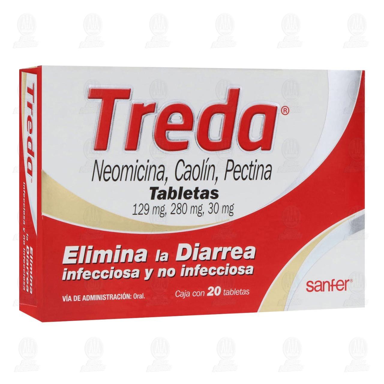 Treda 20 Tabletas