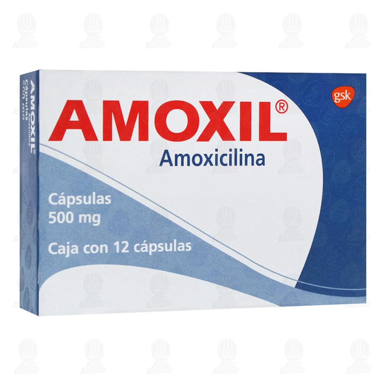 Comprar Amoxil 500mg 12 Cápsulas en Farmacias Guadalajara
