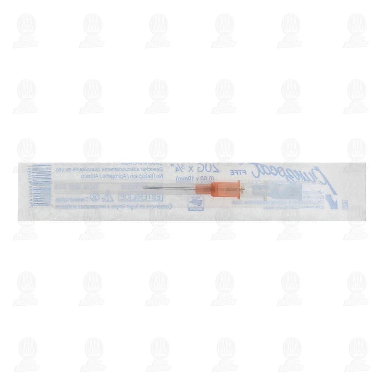 Comprar Catéter Punzocat Calibre (20 G) 1pz en Farmacias Guadalajara