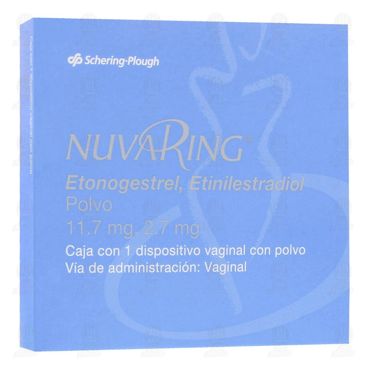 Nuvaring Dispositivo Vaginal con Polvo