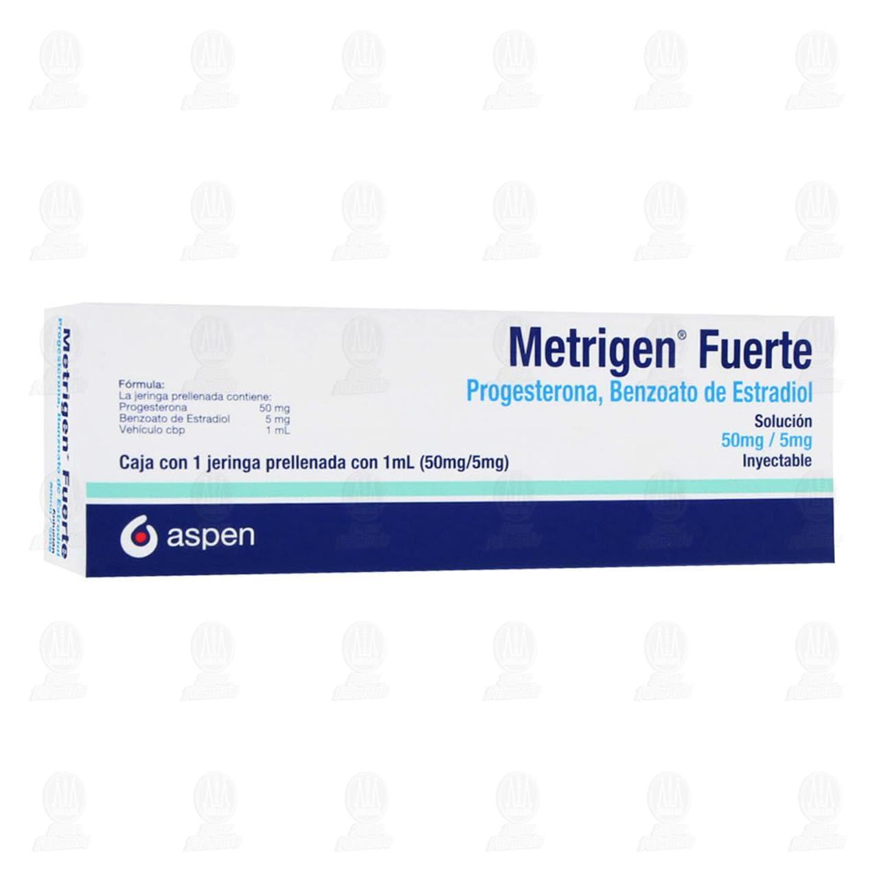 Comprar Metrigen Fuerte 50mg/5mg Solución Inyectable 1 Jeringa Prellenada con 1ml en Farmacias Guadalajara