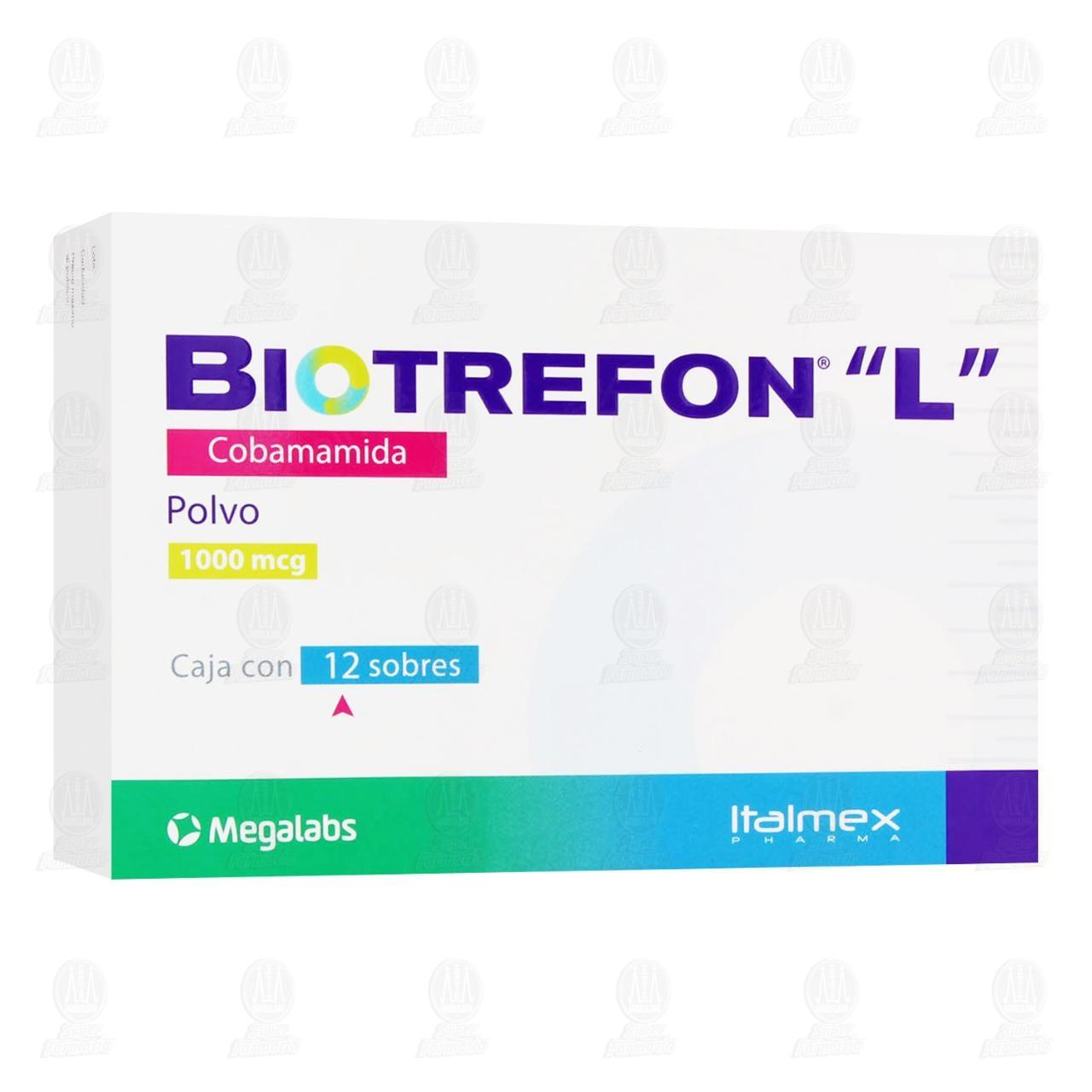 Comprar Biotrefón 'L' 1000mcg en Farmacias Guadalajara