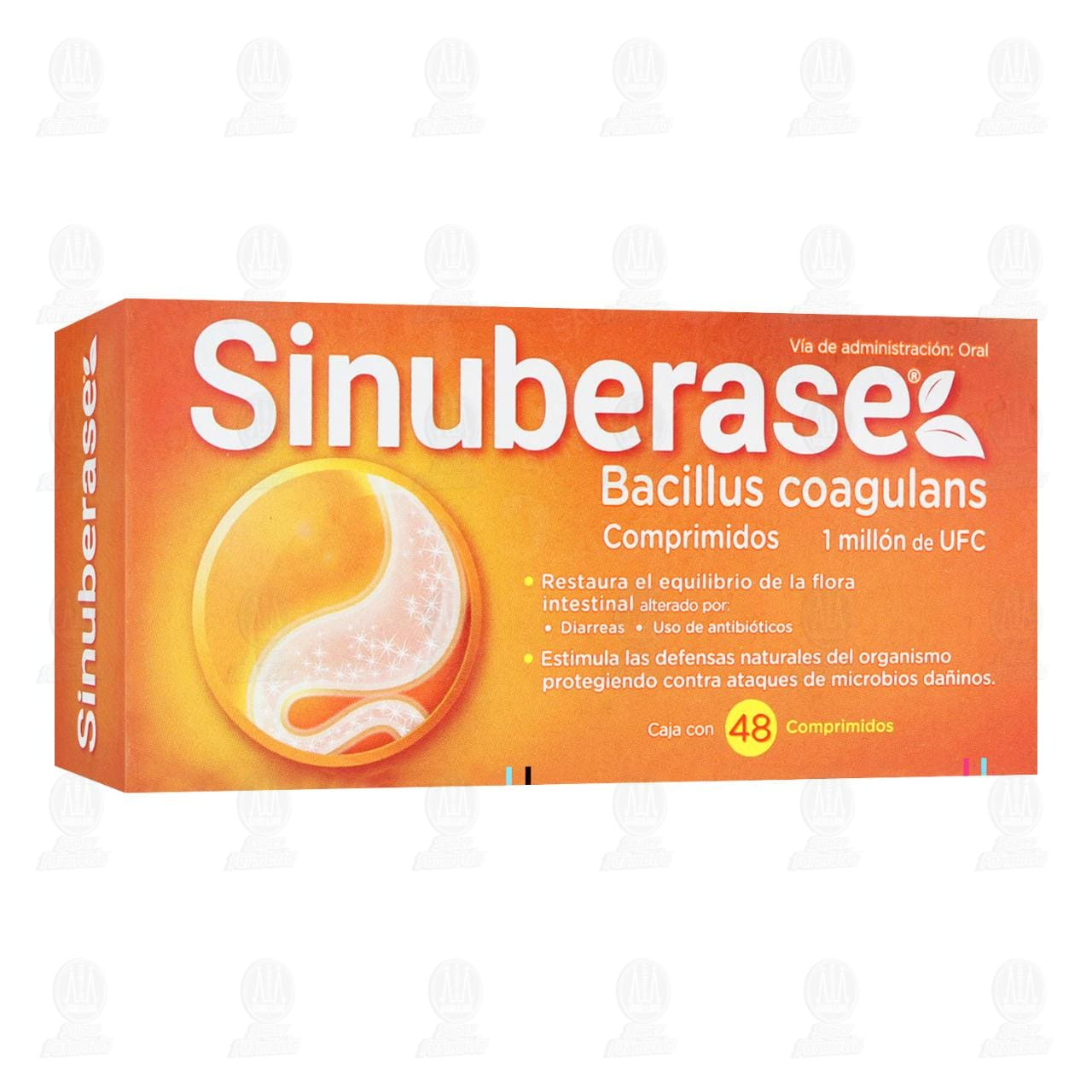 Comprar Sinuberase 48 Comprimidos en Farmacias Guadalajara
