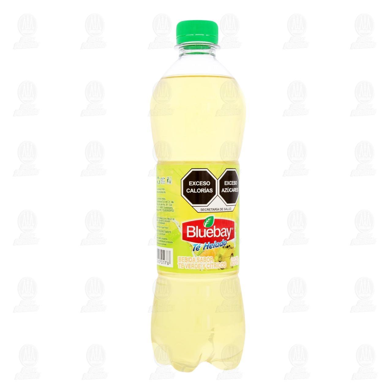 Té Helado Bluebay Sabor Cítricos, 600 ml.