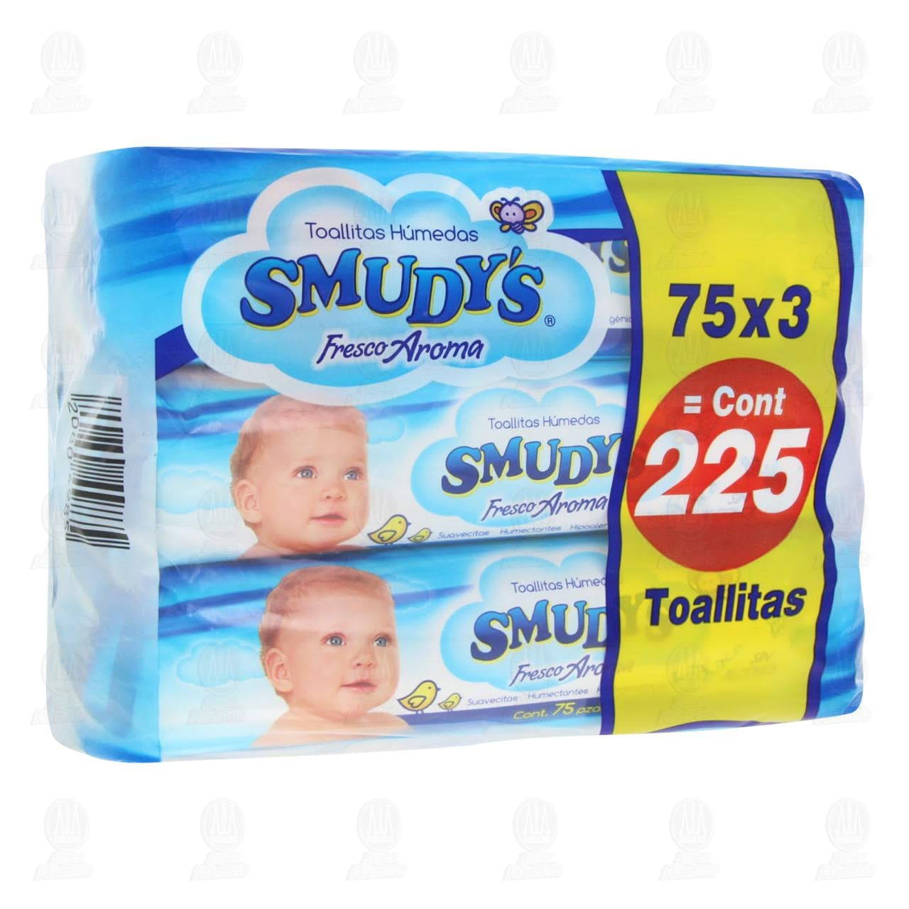 Comprar Pack Toallitas para Bebé Smudy's Fresco Aroma, 3 pzas. en Farmacias Guadalajara