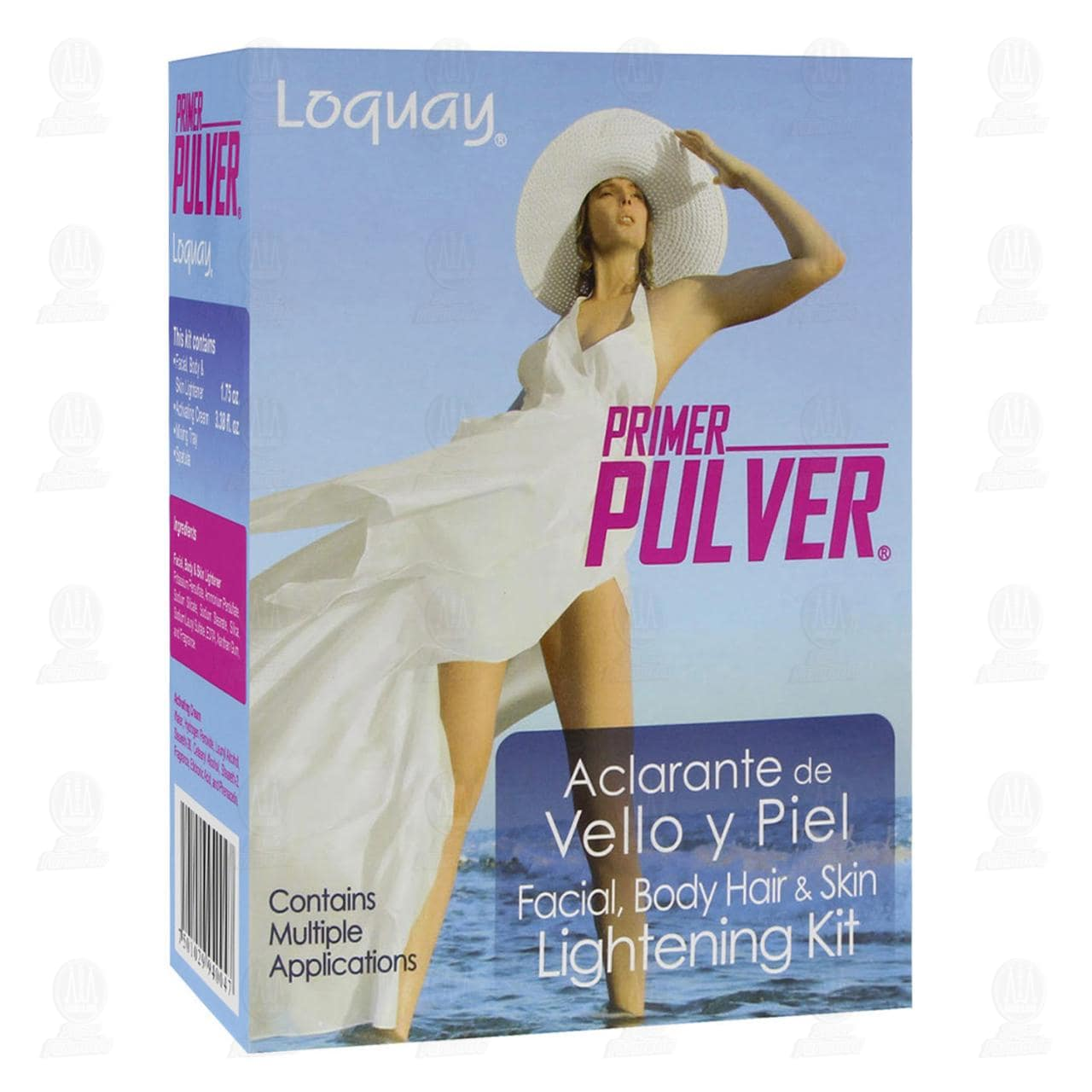 Comprar Aclarante Primer Pulver de Vello y Piel, 4 pzas. en Farmacias Guadalajara