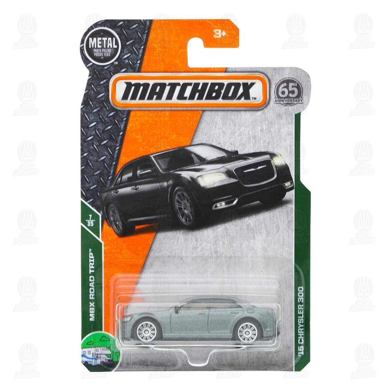 Vehículo Matchbox Diferentes Modelos, 1 pz.