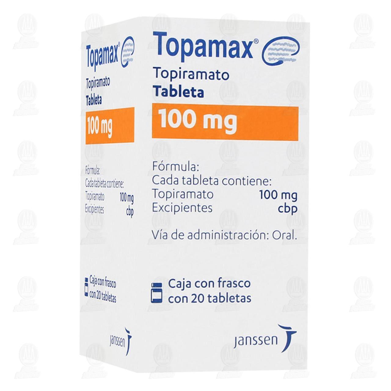 Comprar Topamax 100mg 20 Tabletas en Farmacias Guadalajara