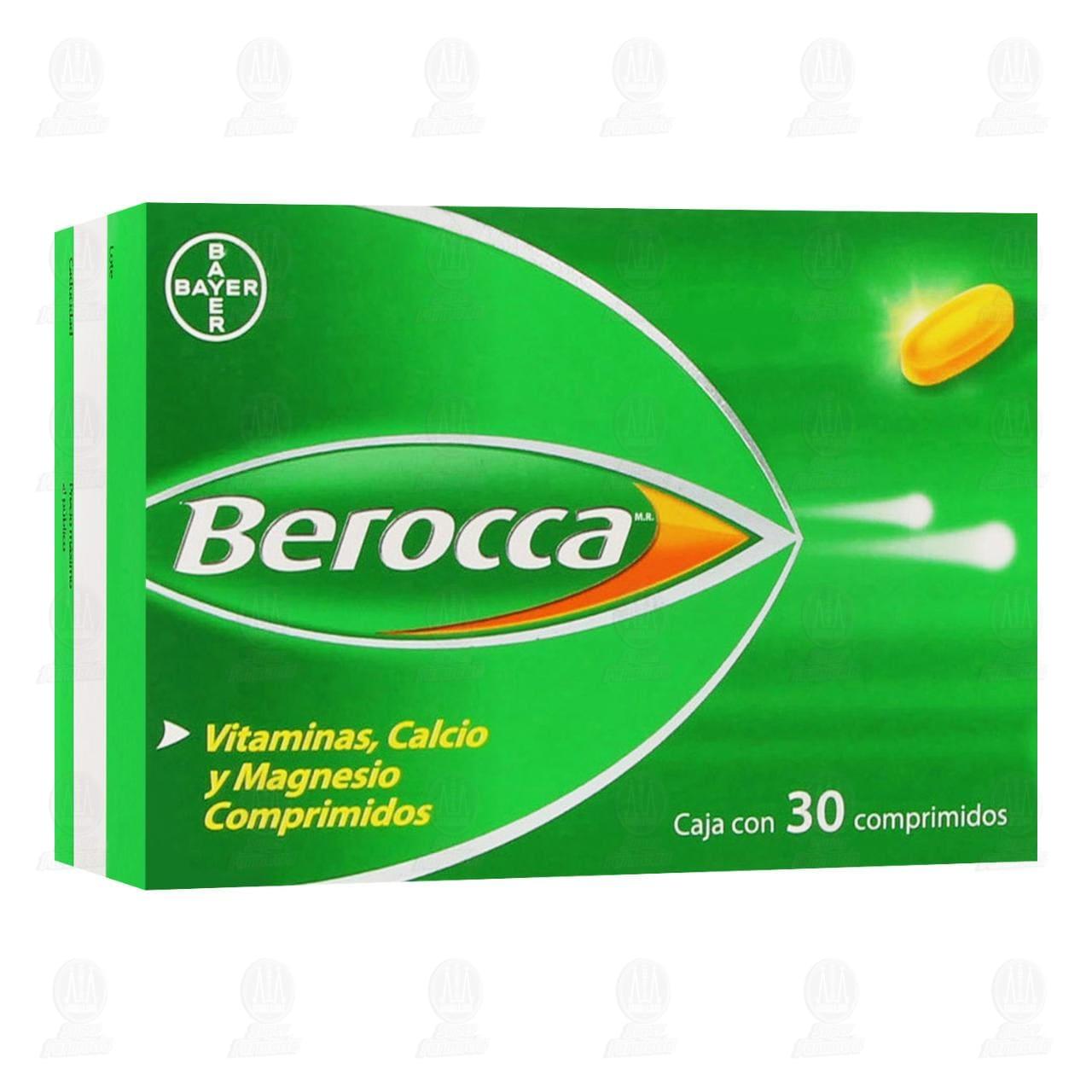 Comprar Berocca 30 Comprimidos en Farmacias Guadalajara