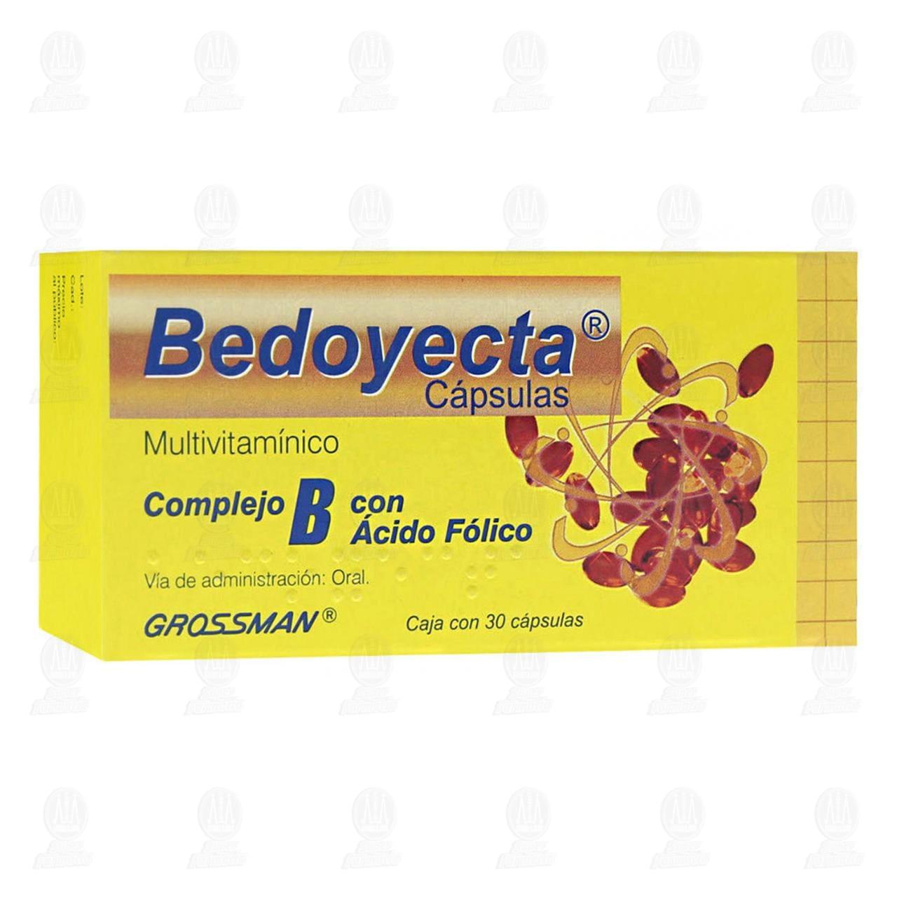 Bedoyecta Oral 30 Cápsulas