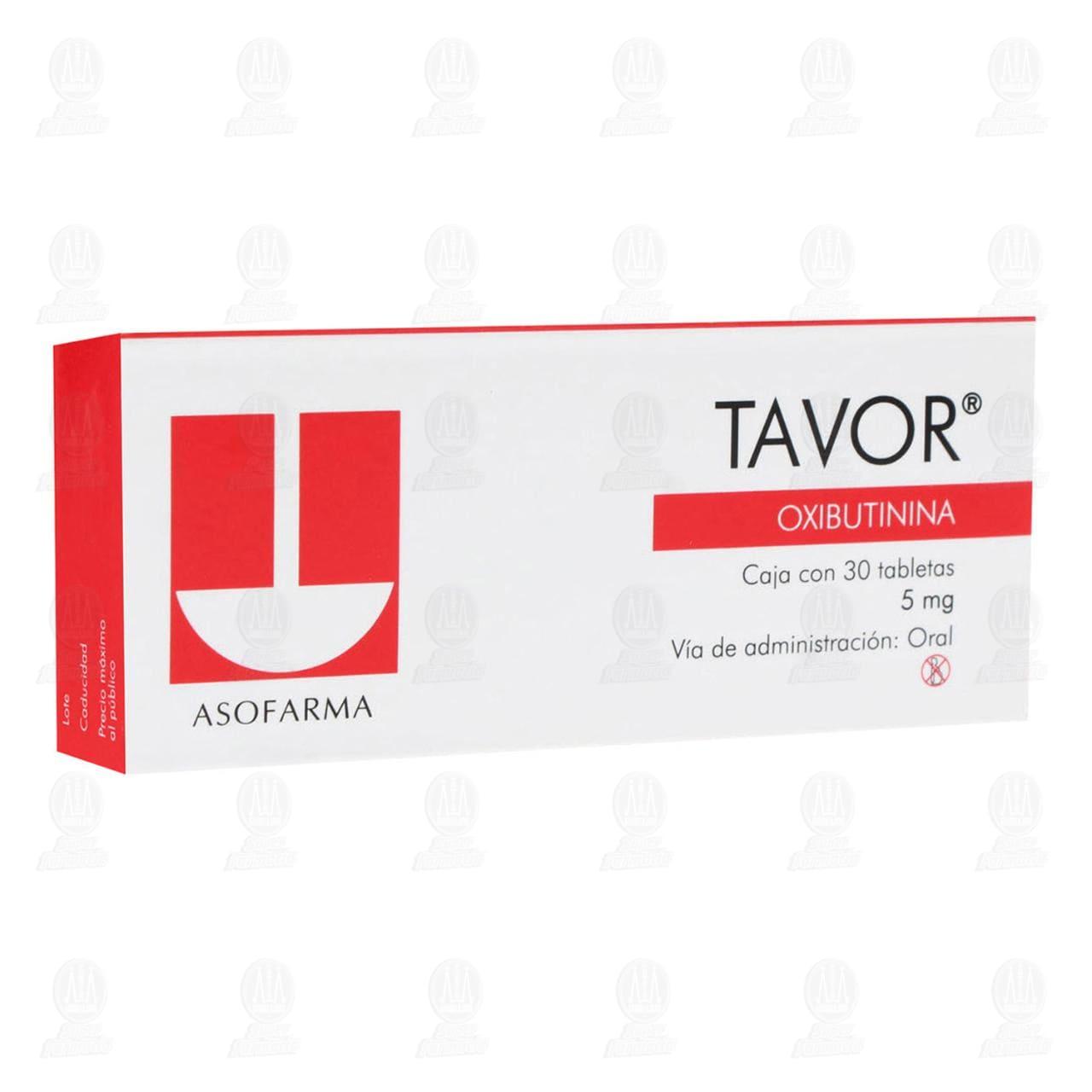 Tavor 5mg 30 Tabletas