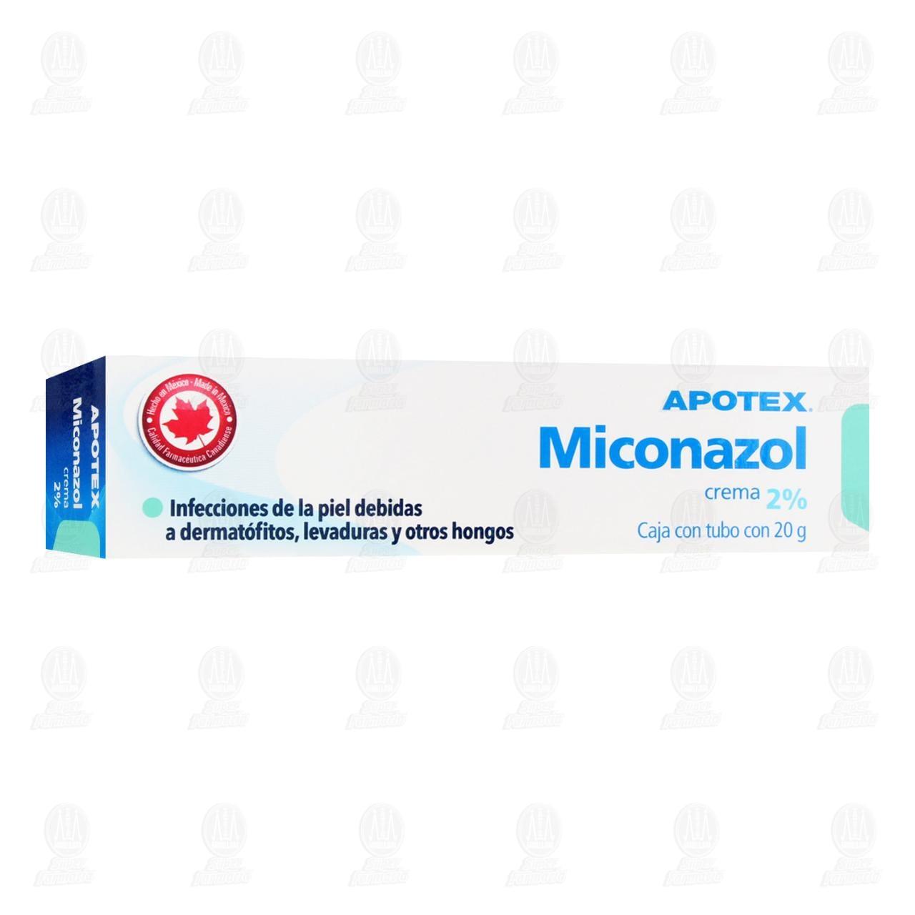Comprar Miconazol Crema 2% 20gr en Farmacias Guadalajara
