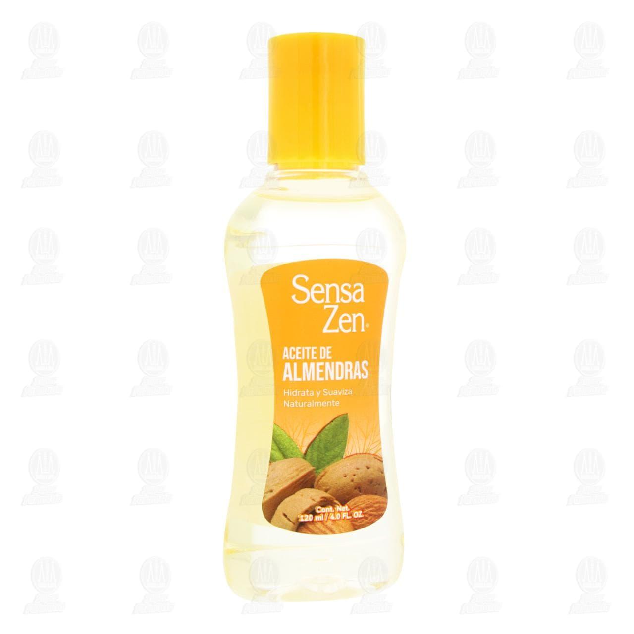 Aceite Suavizante con Almendras, 120 ml.
