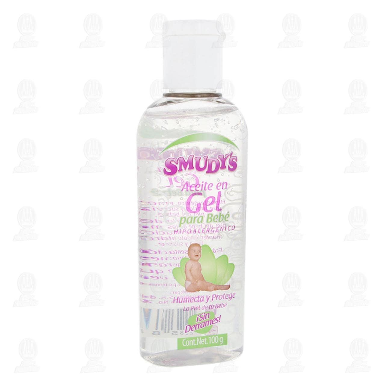 Aceite para Bebé Smudy's en Gel Hipoalergénico, 100 gr.
