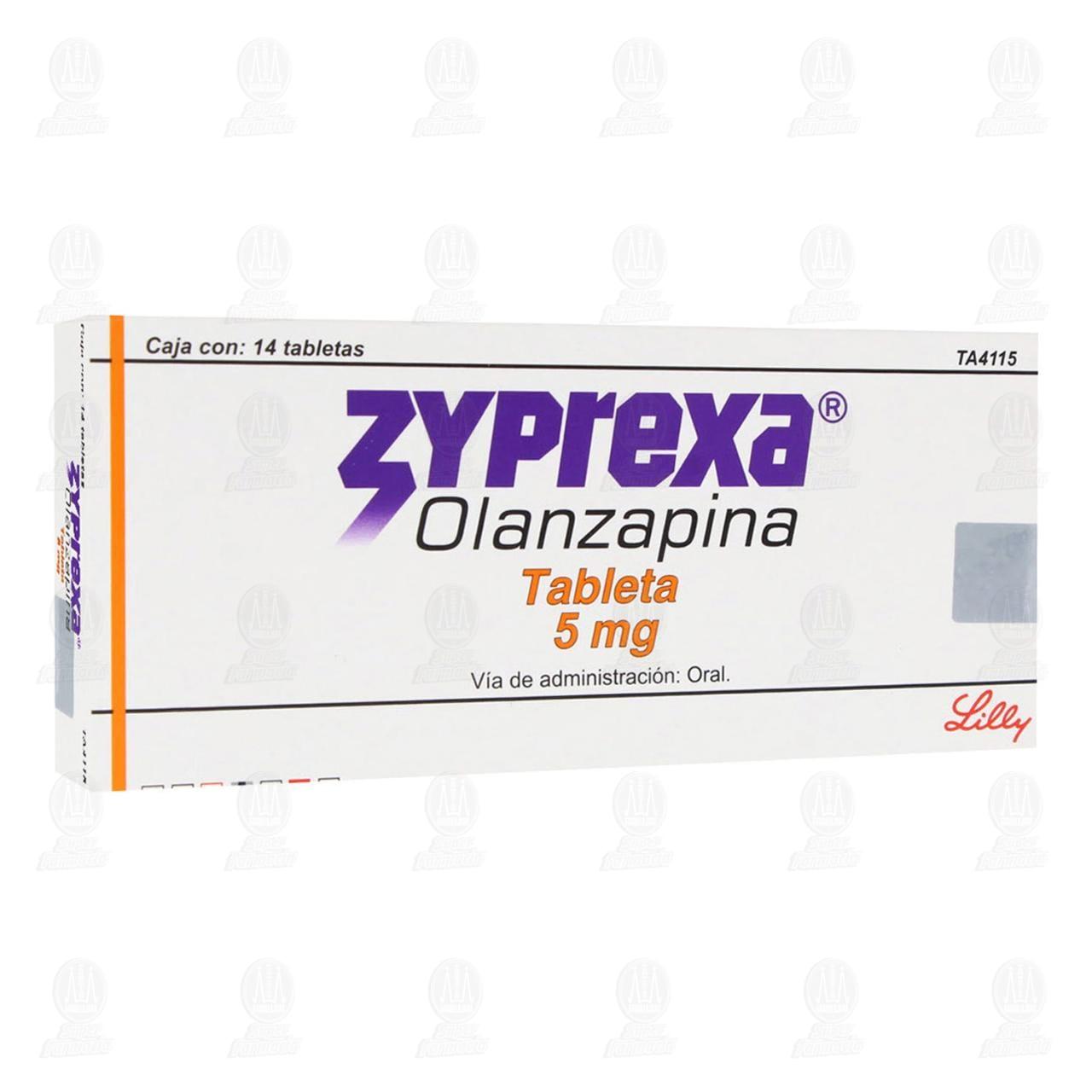 Zyprexa 5mg 14 Tabletas