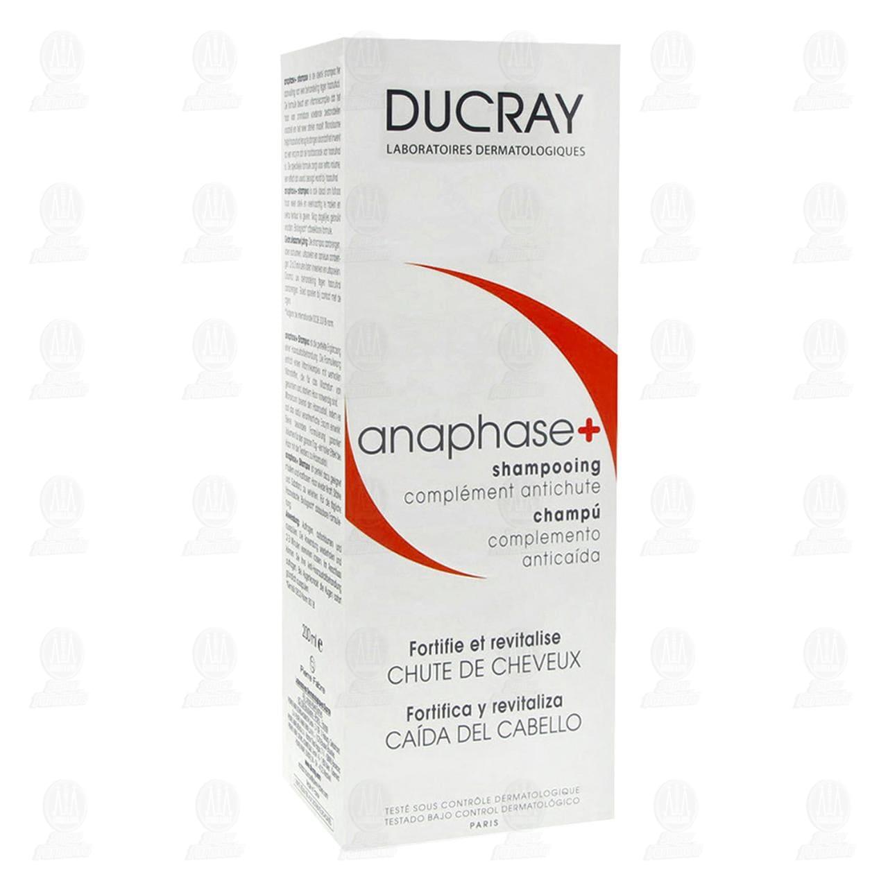 Comprar Ducray Anaphase+ Shampoo Anticaída, 200 ml. en Farmacias Guadalajara