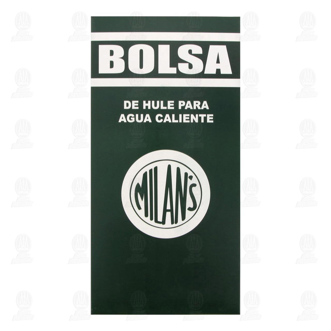 Comprar Bolsa de Hule Milan's para Agua Caliente en Farmacias Guadalajara