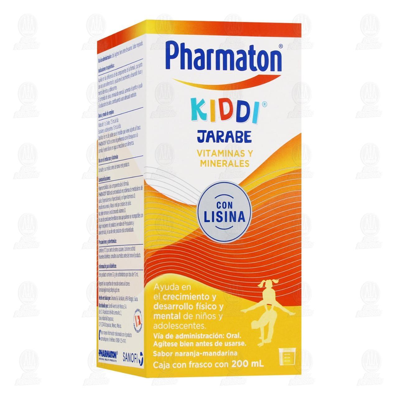 Comprar Pharmaton Kiddi Jarabe Multivitamínico Infantil 200ml en Farmacias Guadalajara