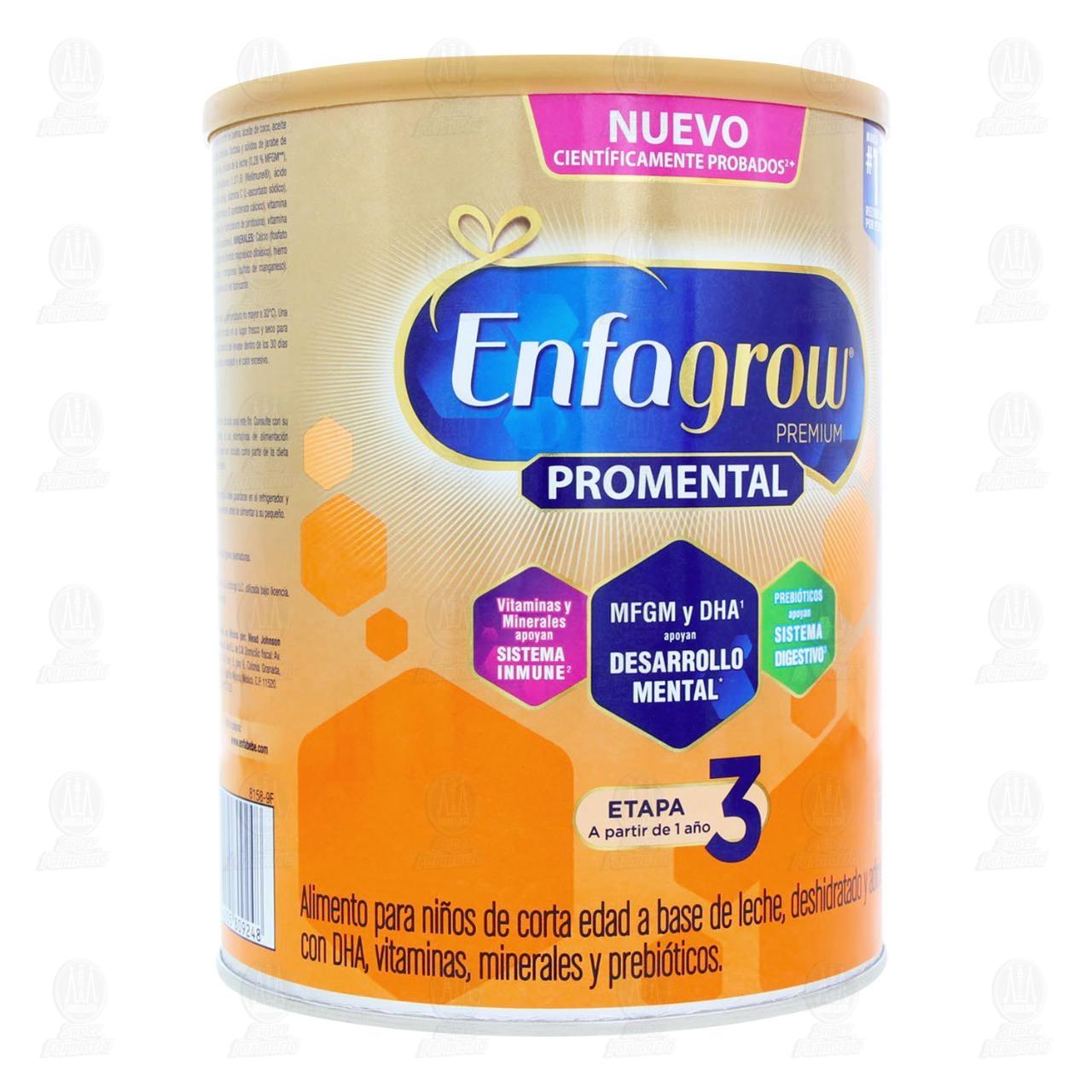 Enfagrow Etapa 3 Leche de Crecimiento 1 a 3 Años, 800 gr.