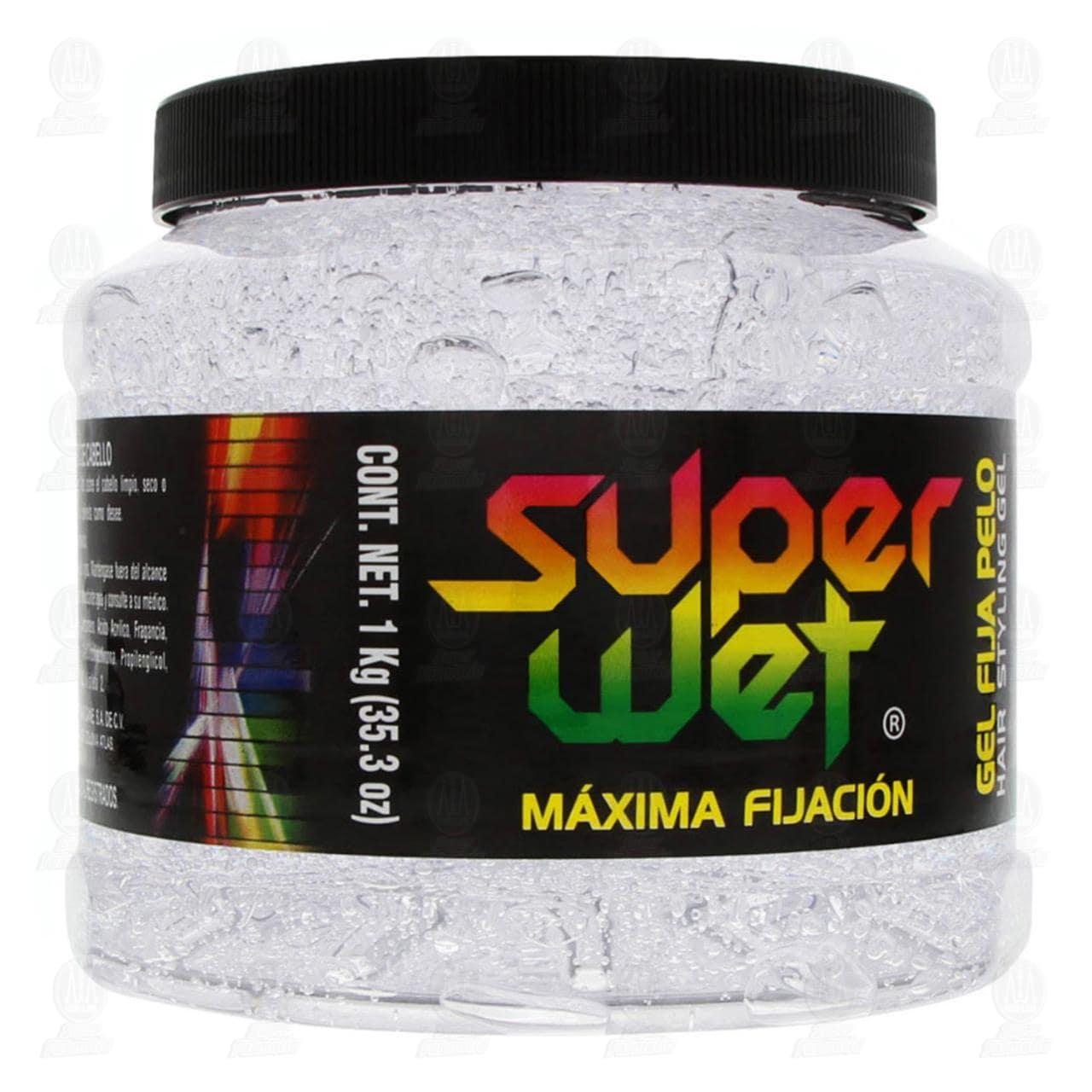Comprar Gel para Cabello Super Wet Máxima Fijación, 1 kg. en Farmacias Guadalajara