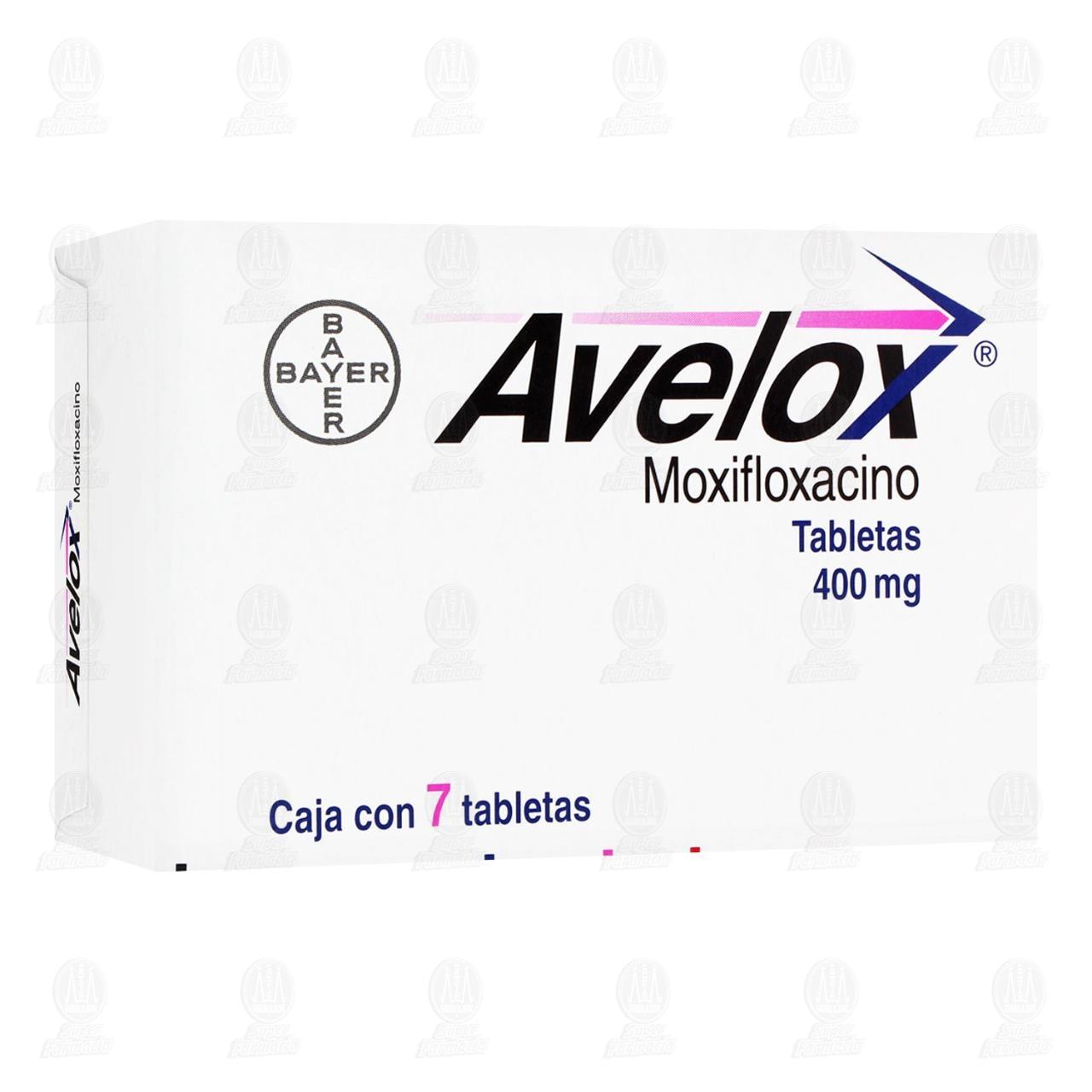 Avelox 400mg 7 Tabletas