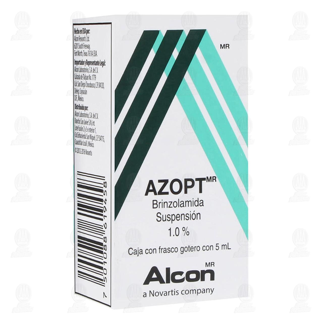 Comprar Azopt 1% 5ml Suspensión Oftálmica Gotas en Farmacias Guadalajara