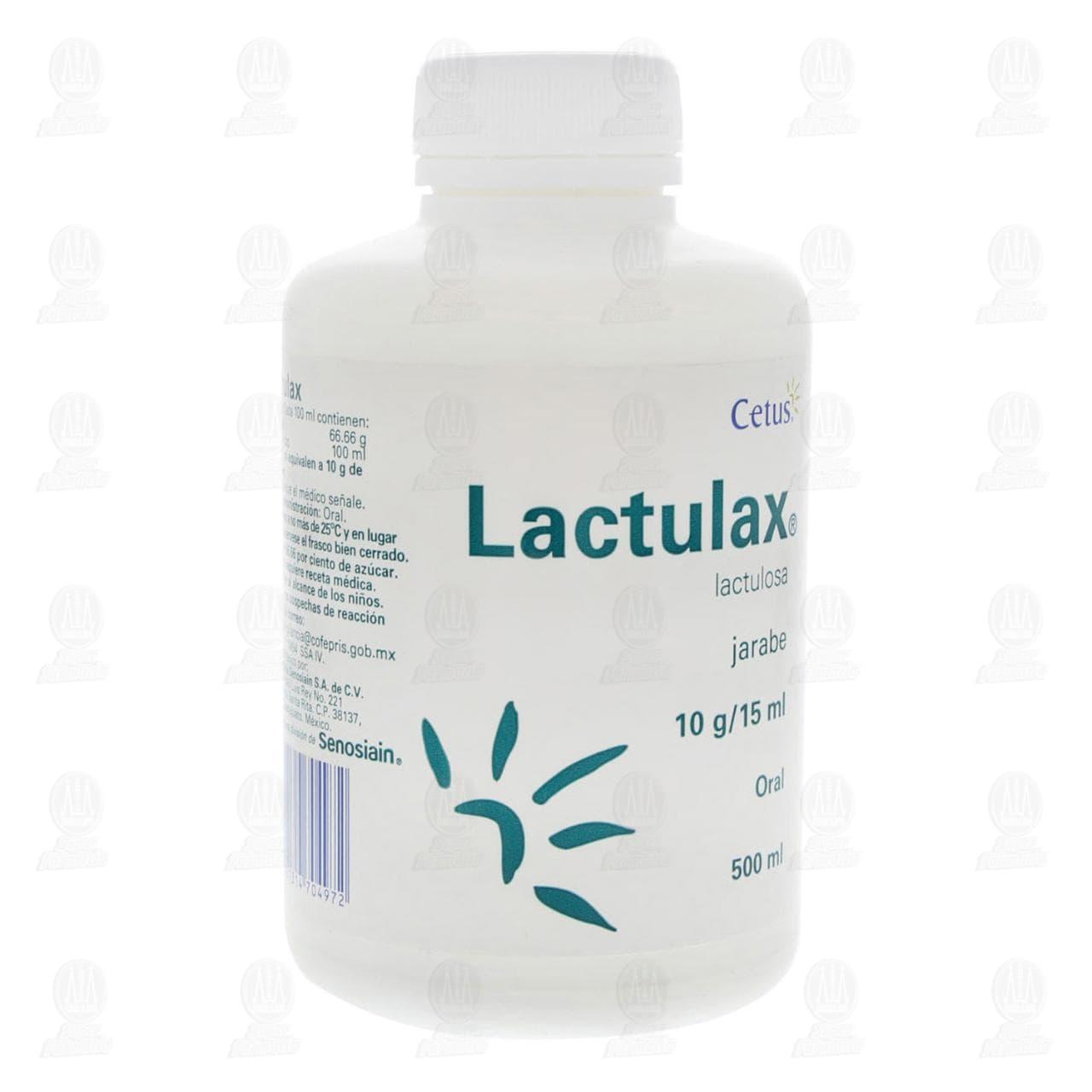Comprar Lactulax Jarabe 500ml en Farmacias Guadalajara