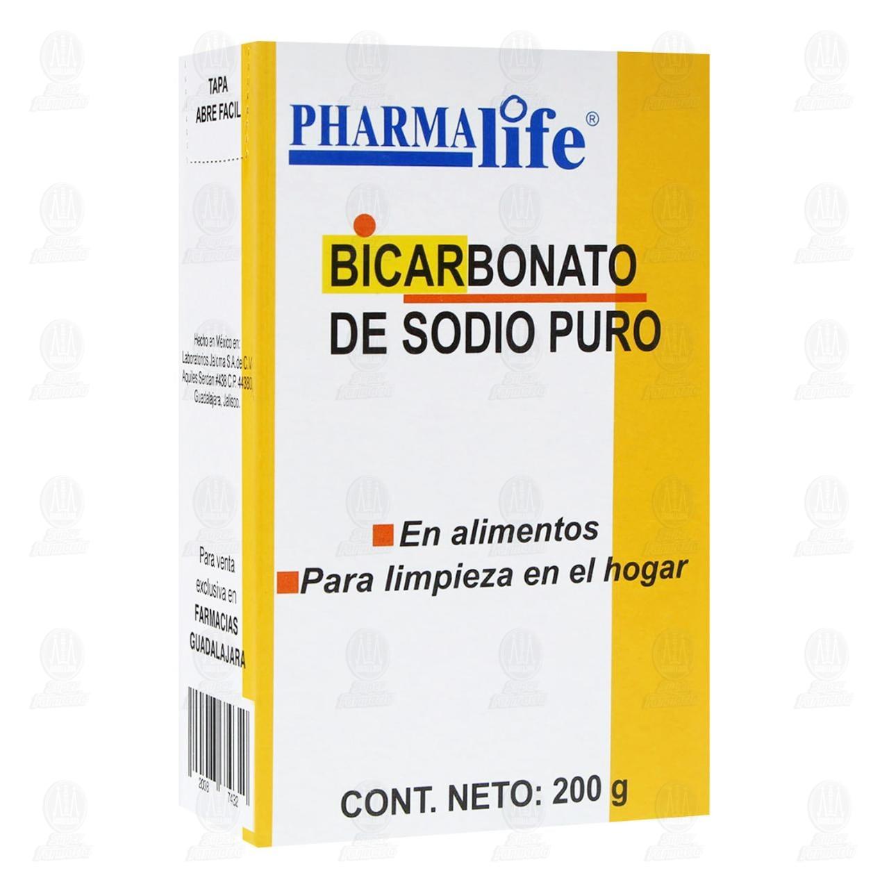 Comprar Bicarbonato de Sodio 200gr Pharmalife en Farmacias Guadalajara