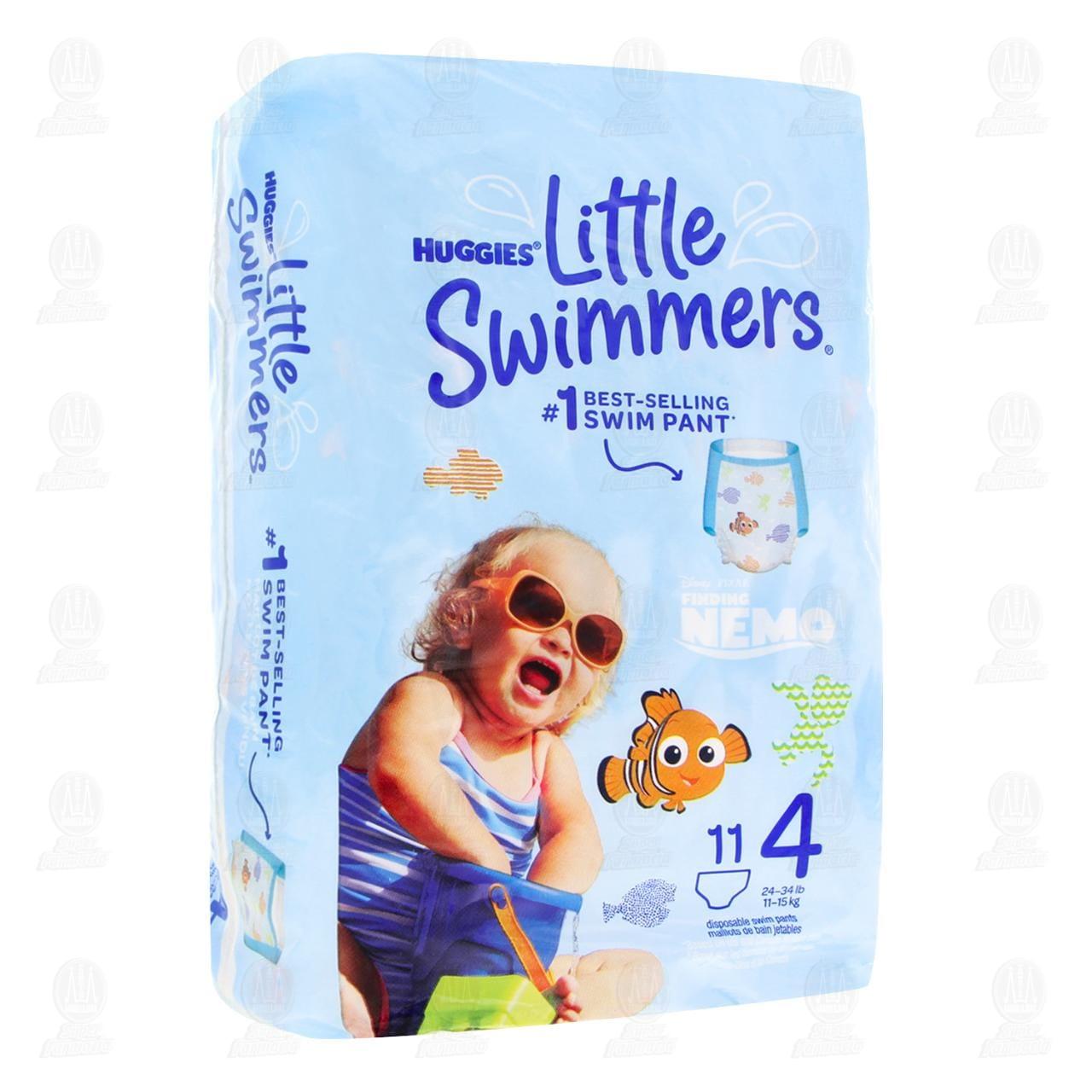 Comprar Calzón para Nadar Huggies Little Swimmers Talla 4 Desechables, 11 pzas. en Farmacias Guadalajara