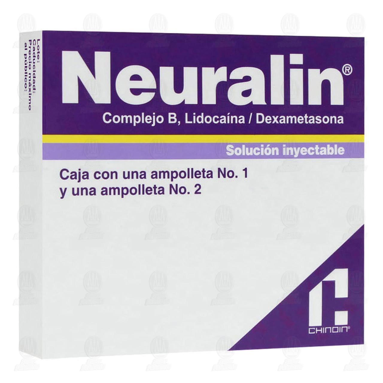 Comprar Neuralin 1ml/2ml 2 Ampolletas en Farmacias Guadalajara