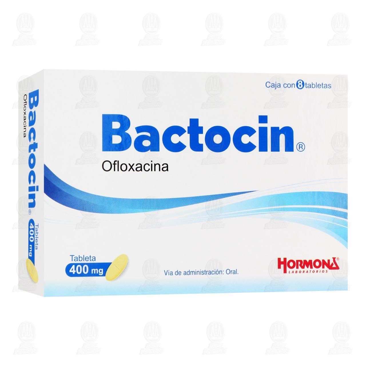 Comprar Bactocin 400mg 8 Tabletas en Farmacias Guadalajara