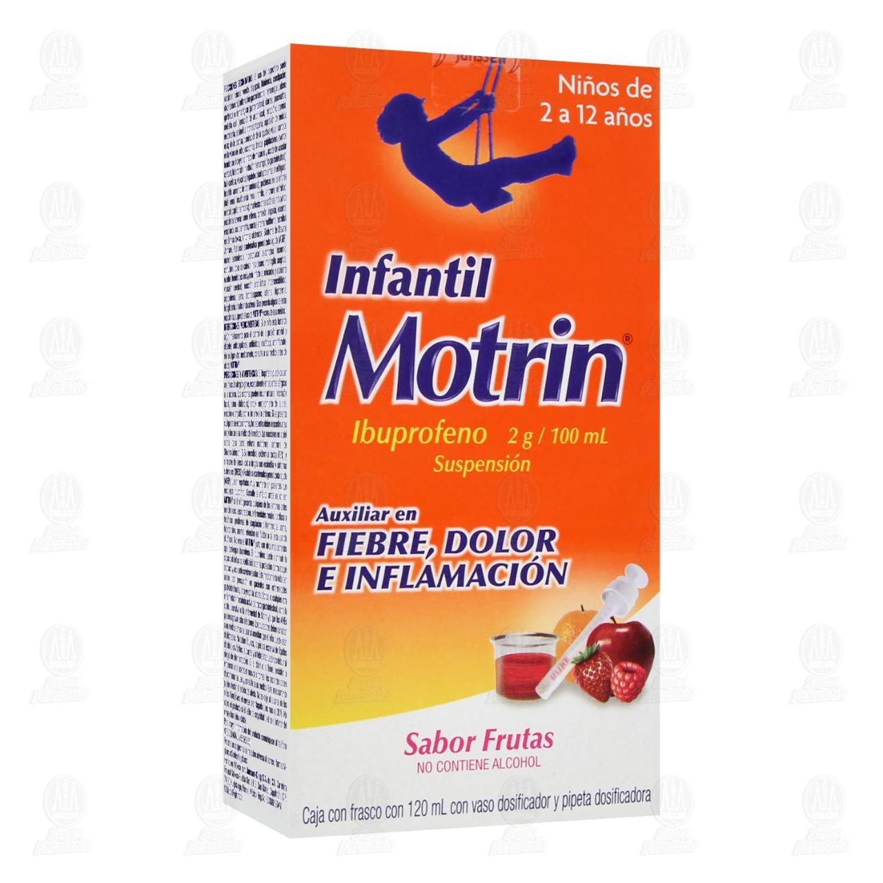 Comprar Motrin Infantil Solución 120ml en Farmacias Guadalajara