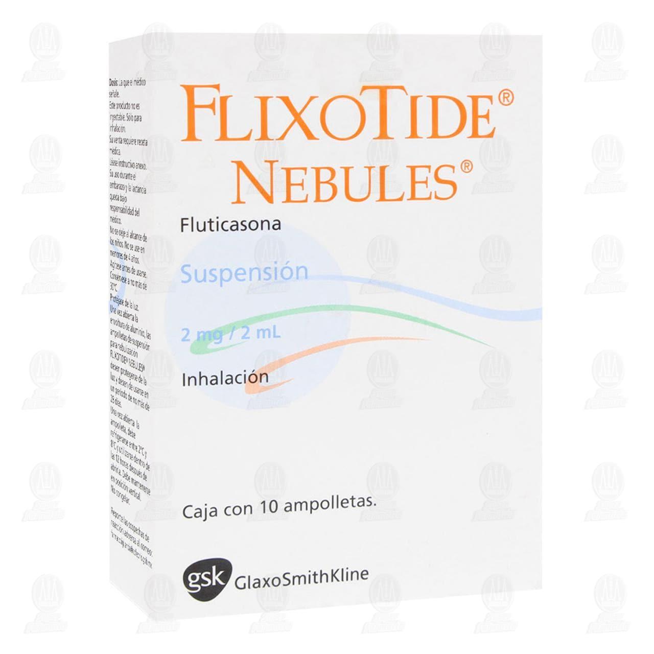 Comprar Flixotide Nebules 2mg/2ml 10 Ampolletas en Farmacias Guadalajara