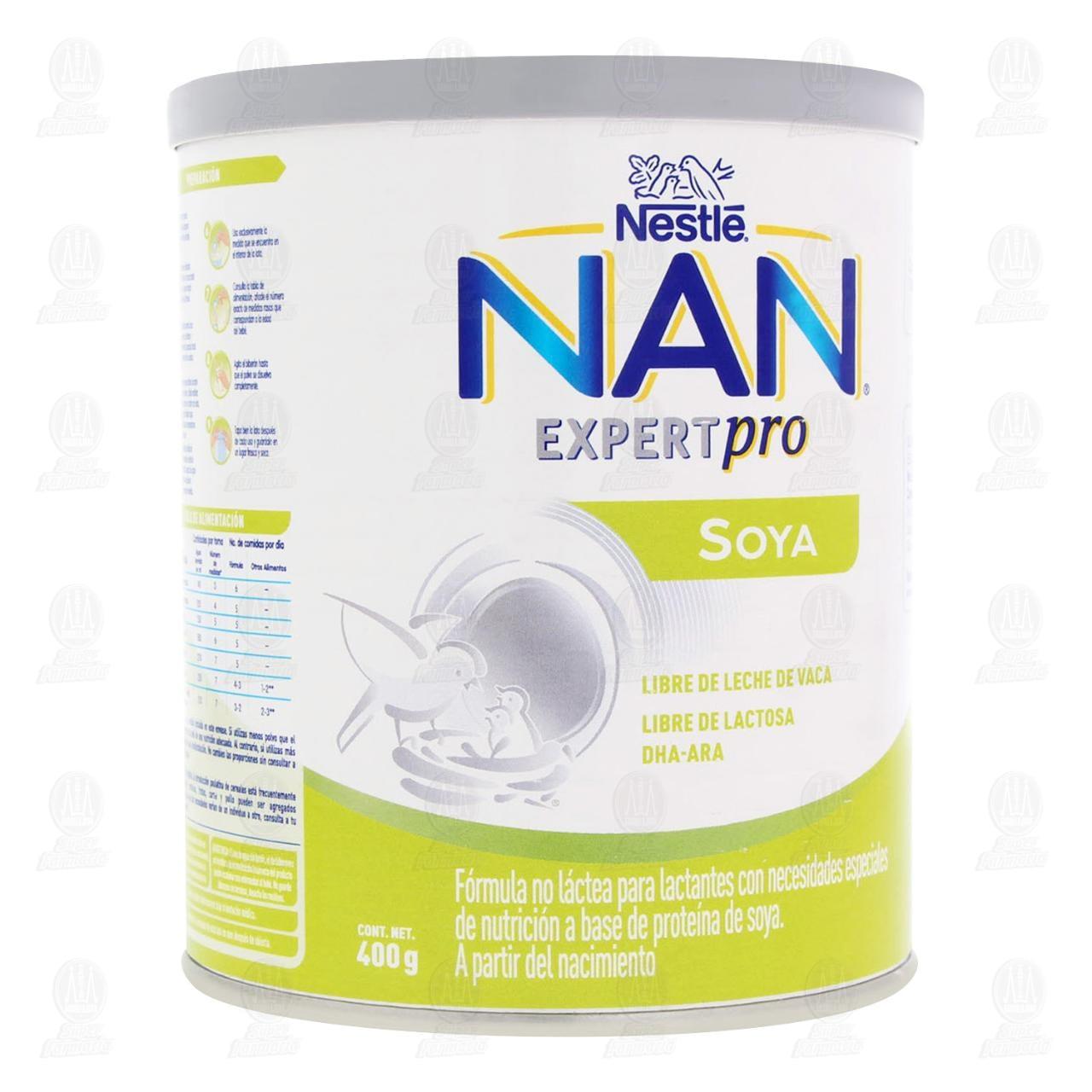 Comprar Fórmula Infantil NAN Soya, 400 gr. en Farmacias Guadalajara