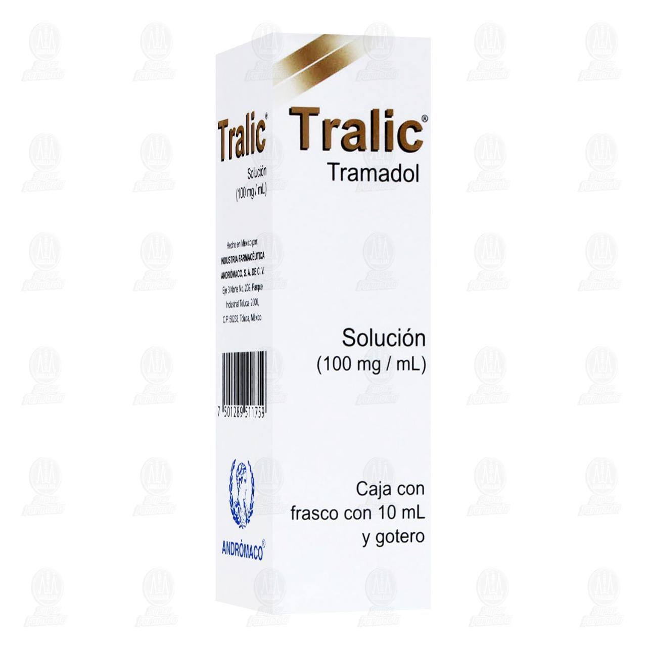 Comprar Tralic 100mg/ml 10ml Solución Gotas en Farmacias Guadalajara
