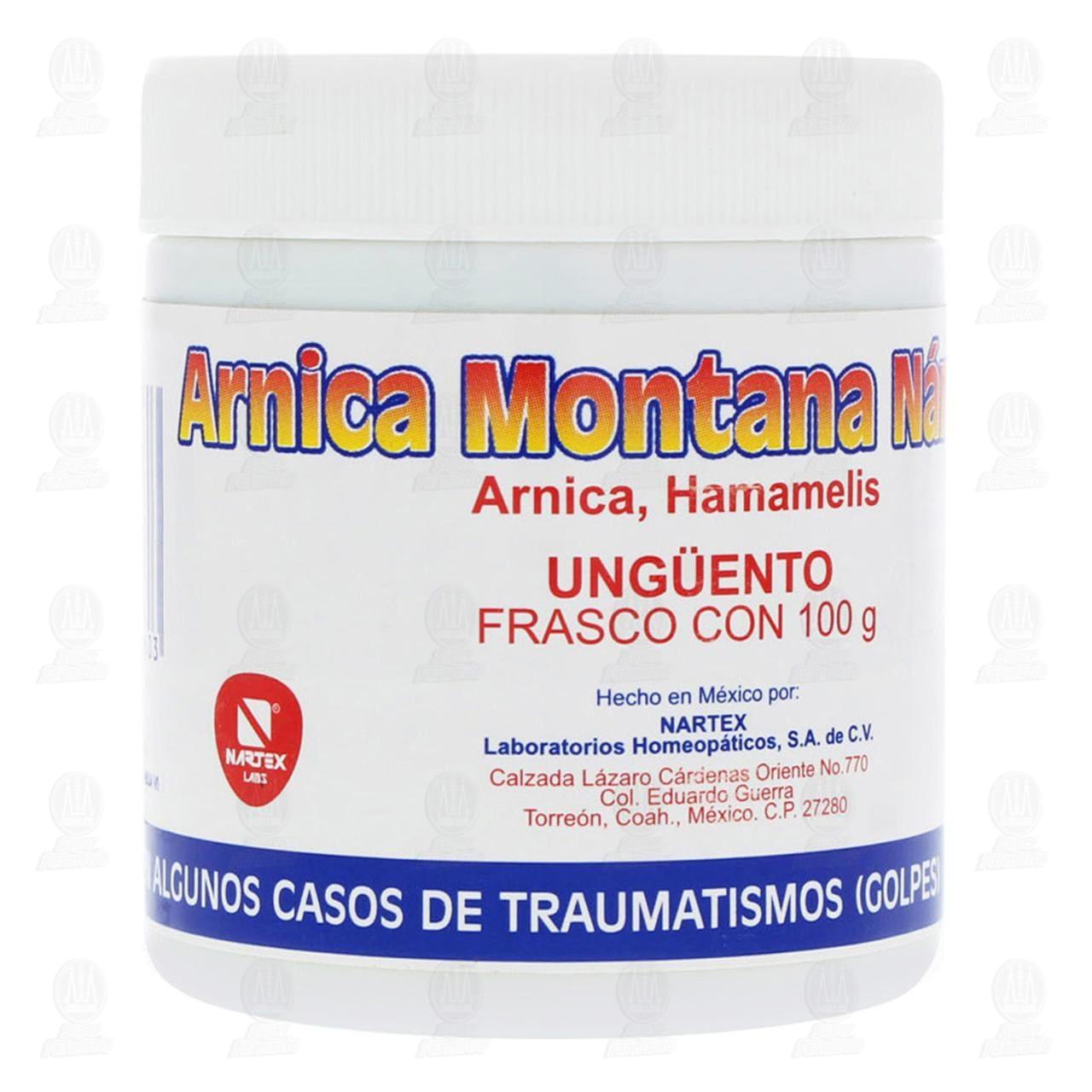 Comprar Árnica Montana Nartex Pomada 100gr en Farmacias Guadalajara
