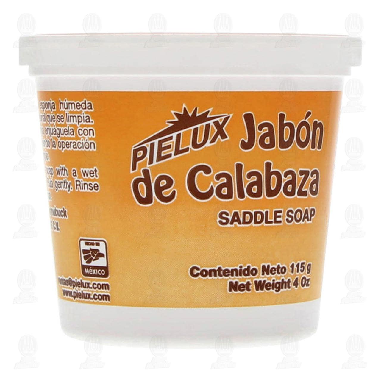 Jabón de Calabaza Pielux para Artículos de Piel, 115 gr.