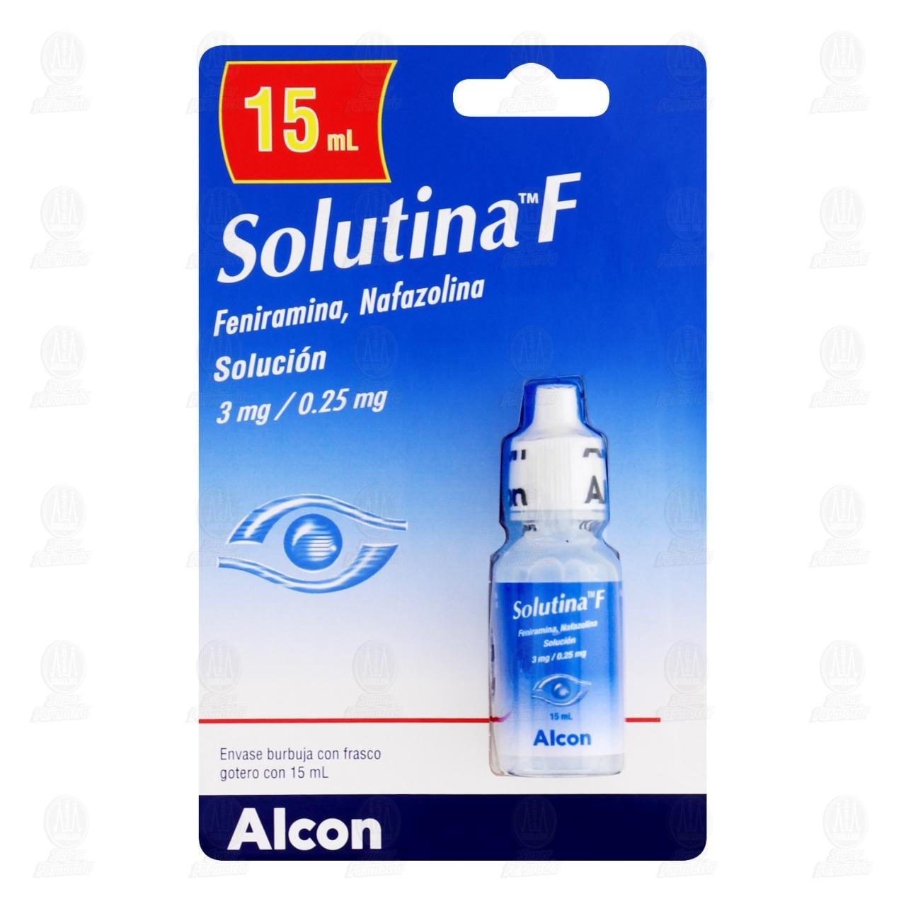 Comprar Solutina F Solución Oftálmica 15ml en Farmacias Guadalajara