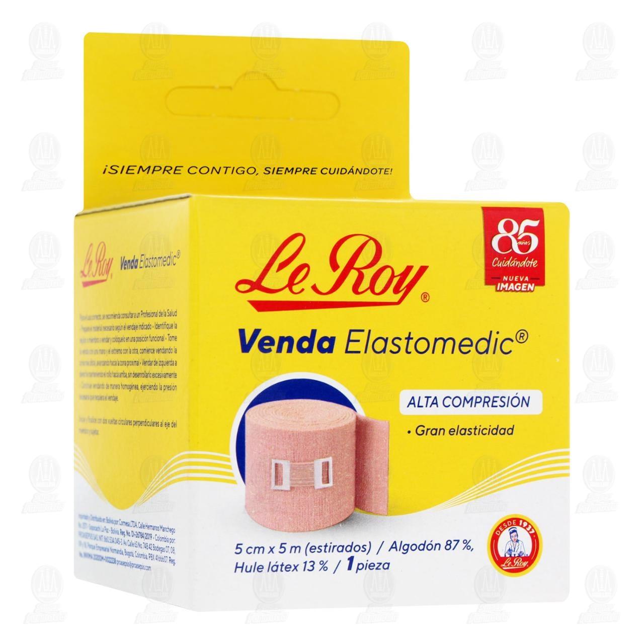 Comprar Venda Le Roy Elastomedic 5cm x 5m Estirada en Farmacias Guadalajara