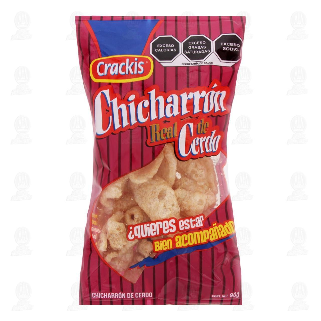 Botana Crackis Chicharrón de Cerdo, 90 gr.