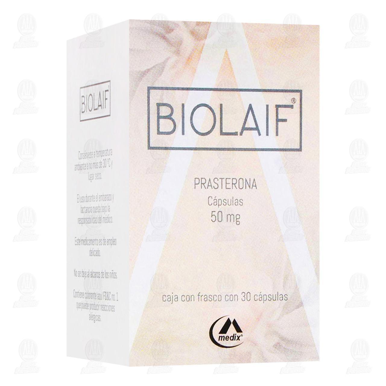 Comprar Biolaif 50mg 30 Cápsulas en Farmacias Guadalajara