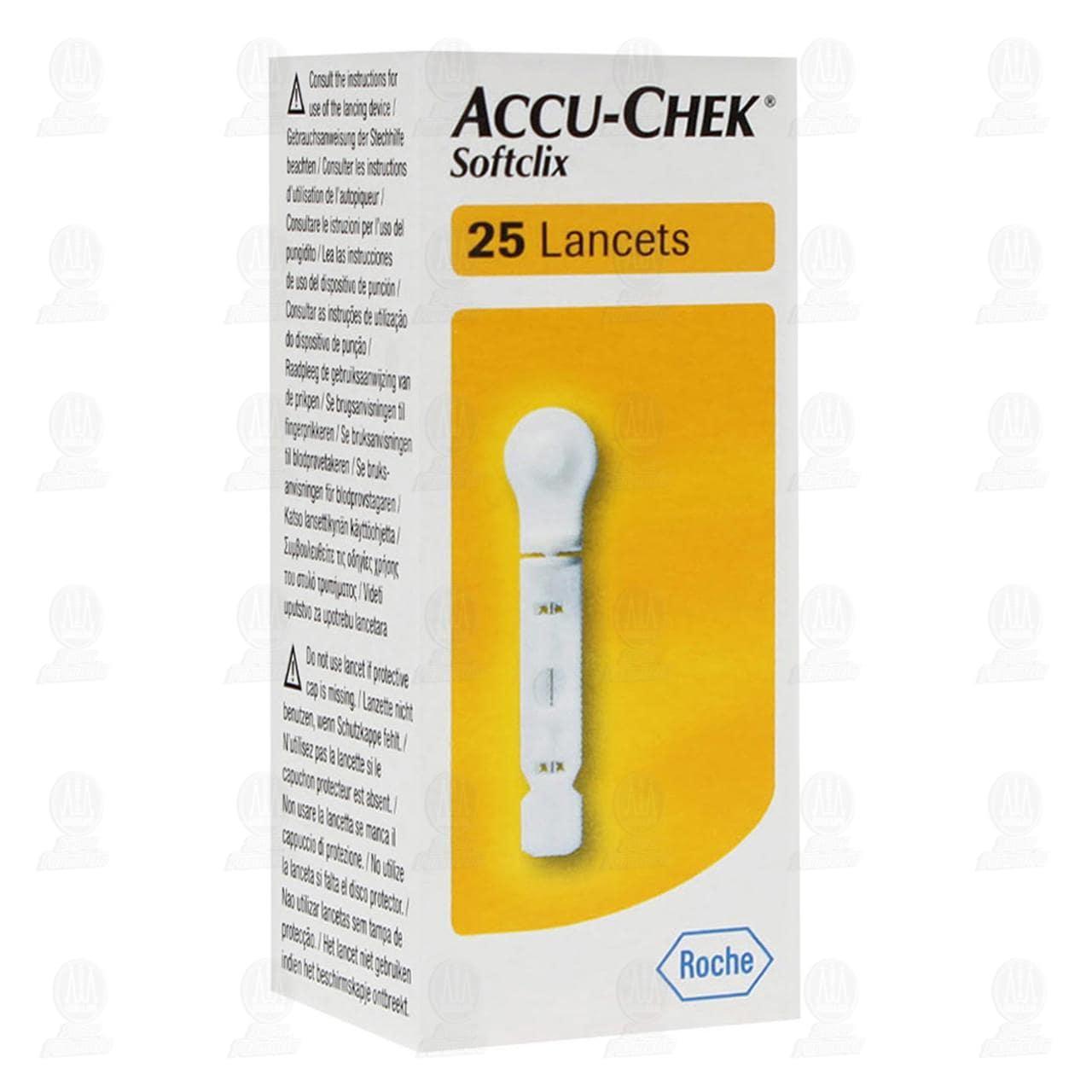 Accu-chek Softclix Lancetas 25 Piezas