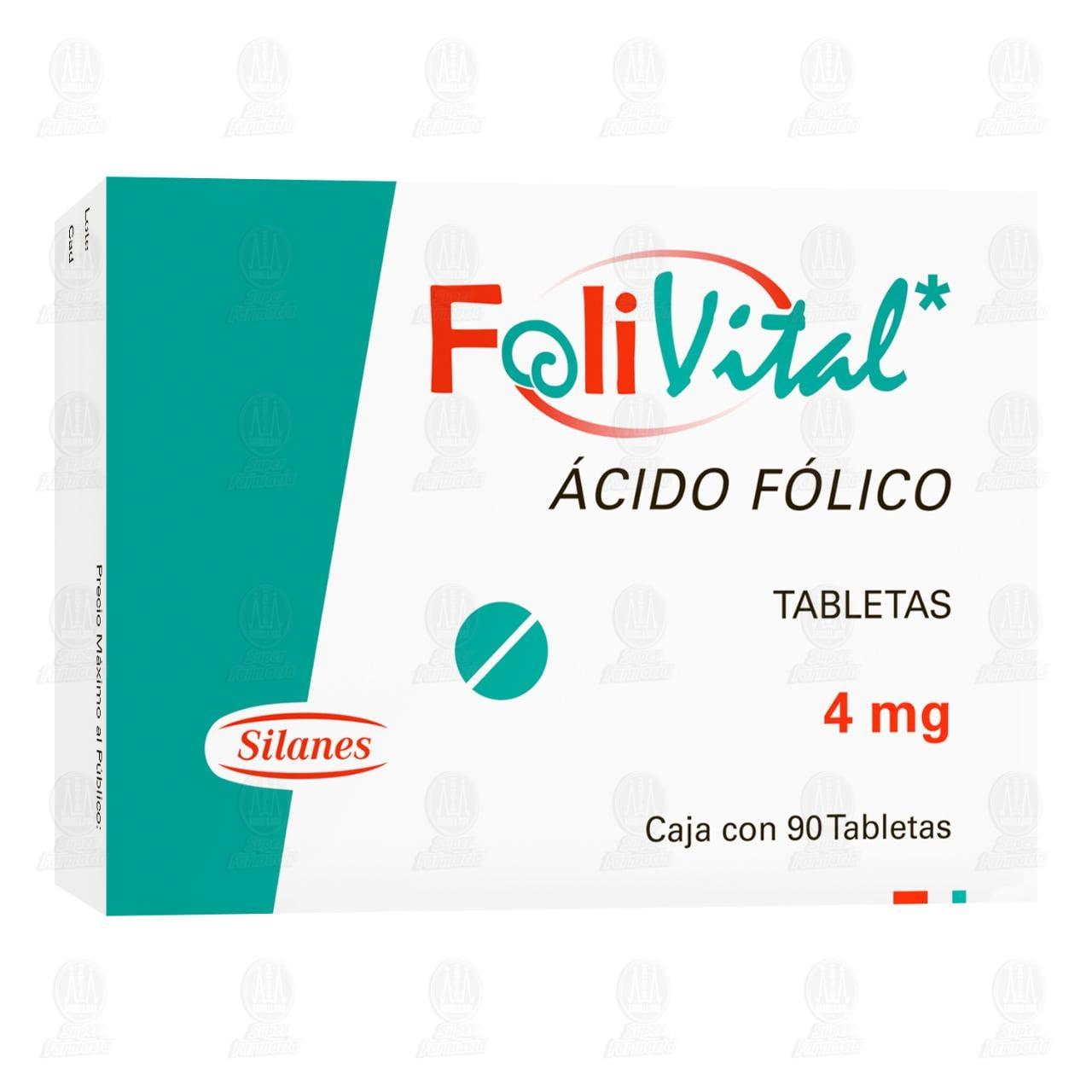 Folivital 4mg 90 Tabletas