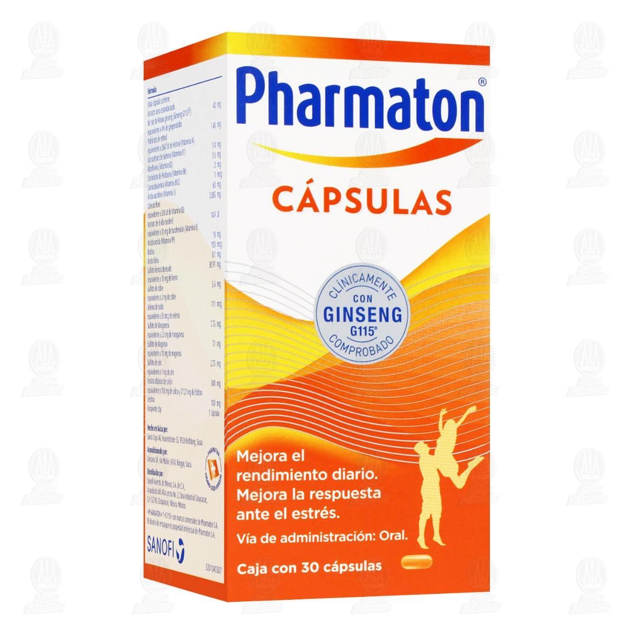 Comprar Pharmaton Multivitamínico 30 Cápsulas en Farmacias Guadalajara