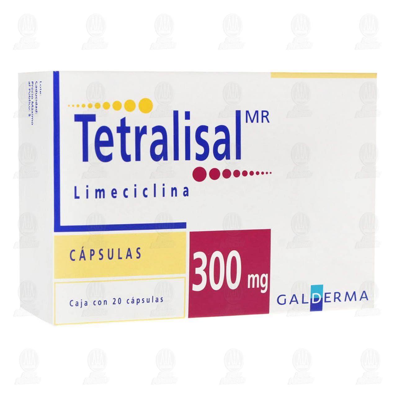 Tetralisal 300mg 20 Cápsulas