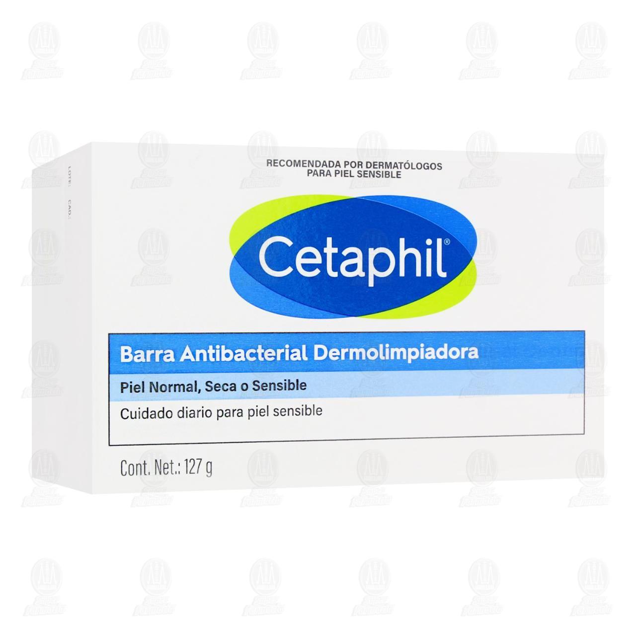 Cetaphil Antibacterial 127gr Barra